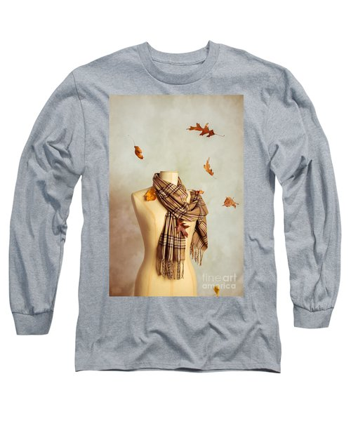 Autumn Scarf Long Sleeve T-Shirt