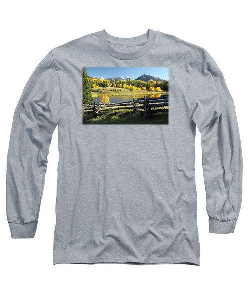 Autumn Serenade Long Sleeve T-Shirt by Eric Glaser