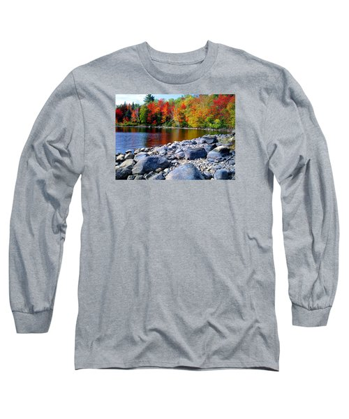 Autumn Shoreline Long Sleeve T-Shirt