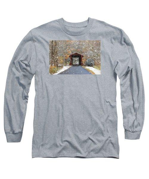 Autumn Snow Long Sleeve T-Shirt