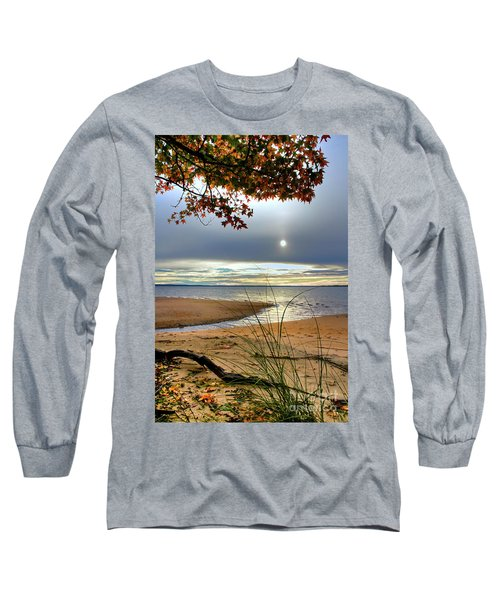 Autumn Sunrise On The James Long Sleeve T-Shirt