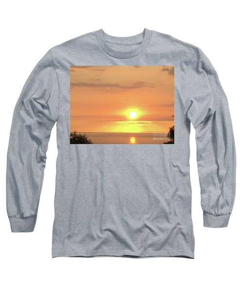 Autumn Sunset Long Sleeve T-Shirt