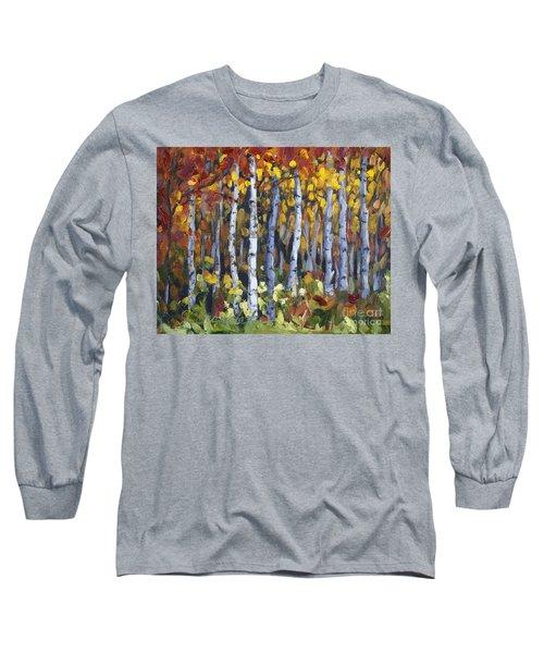 Autumn Trees Long Sleeve T-Shirt