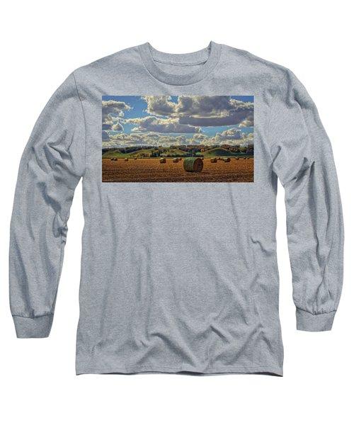 Autumn Valley Bales Long Sleeve T-Shirt