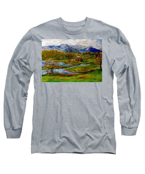 Autumn View Of The Trossachs Long Sleeve T-Shirt