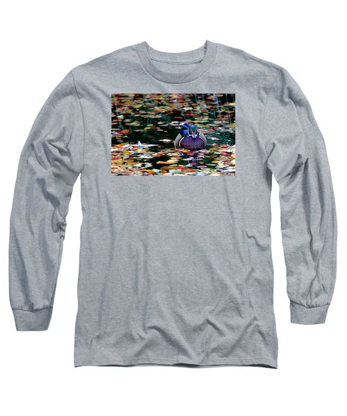 Autumn Wood Duck Long Sleeve T-Shirt