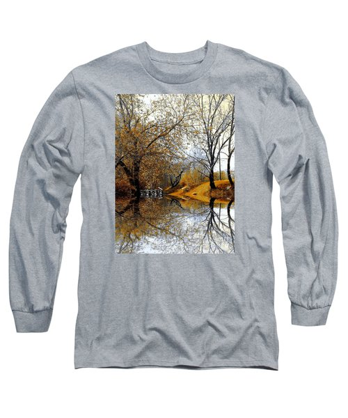 Long Sleeve T-Shirt featuring the photograph Autumnal by Elfriede Fulda