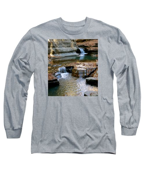 Autumnal Pool Long Sleeve T-Shirt