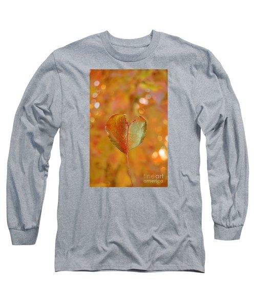 Autumn's Golden Splendor Long Sleeve T-Shirt by Debra Thompson