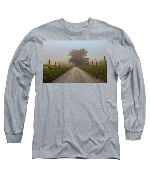 Long Sleeve T-Shirt featuring the photograph Awaiting The Horizon by Jessica Brawley