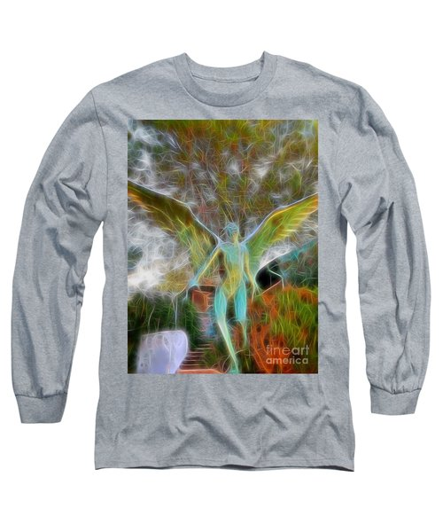 Long Sleeve T-Shirt featuring the photograph Awaken by Gina Savage
