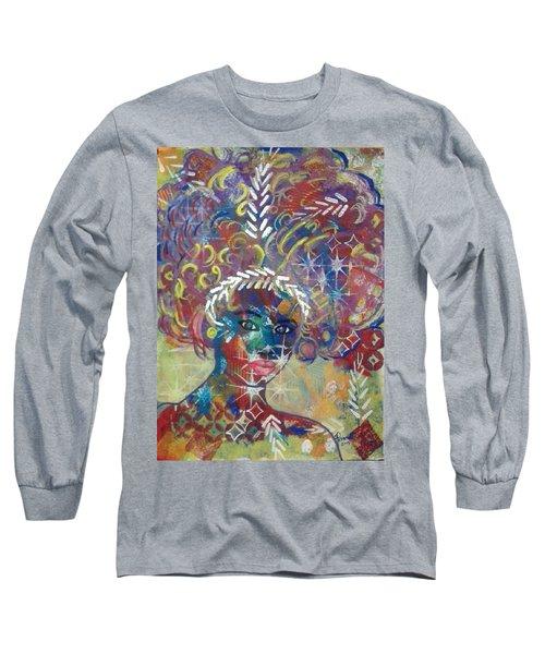 Awakening Goddess Long Sleeve T-Shirt