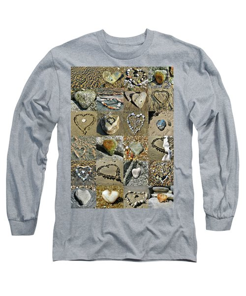 Awesome Hearts Found In Nature - Valentine S Day Long Sleeve T-Shirt