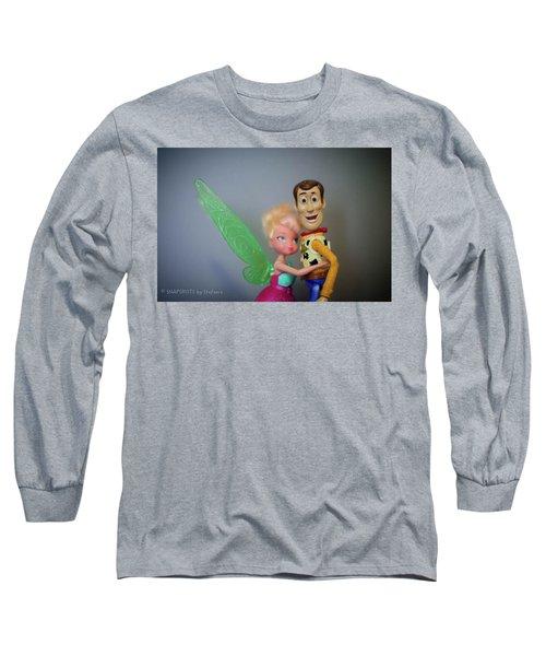 Awww Tink Long Sleeve T-Shirt by Stefanie Silva