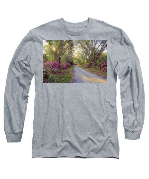 Azalea Lane By H H Photography Of Florida Long Sleeve T-Shirt