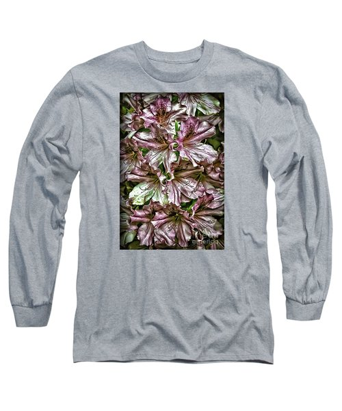 Azaleas Long Sleeve T-Shirt by Walt Foegelle