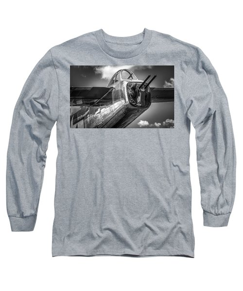 B-25 - Bw Series Long Sleeve T-Shirt