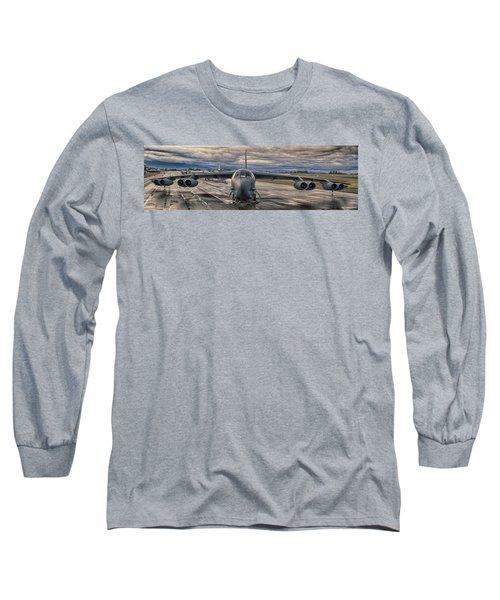 B-52 Long Sleeve T-Shirt by Jim  Hatch