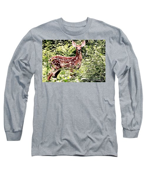 Babe In The Woods Long Sleeve T-Shirt