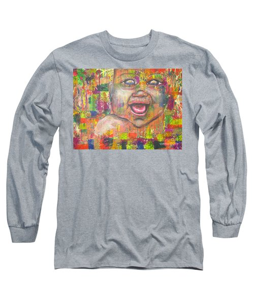Baby - 1 Long Sleeve T-Shirt by Jacqueline Athmann