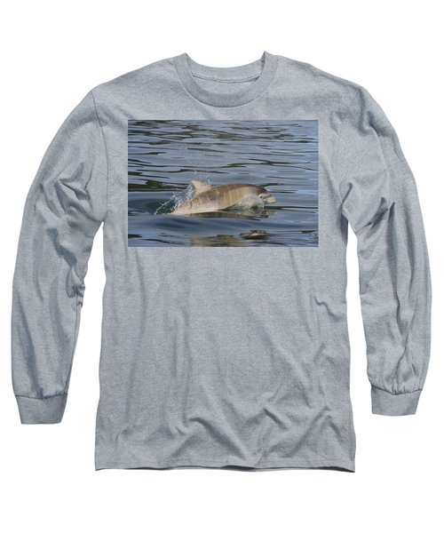 Baby Bottlenose Dolphin - Scotland  #35 Long Sleeve T-Shirt
