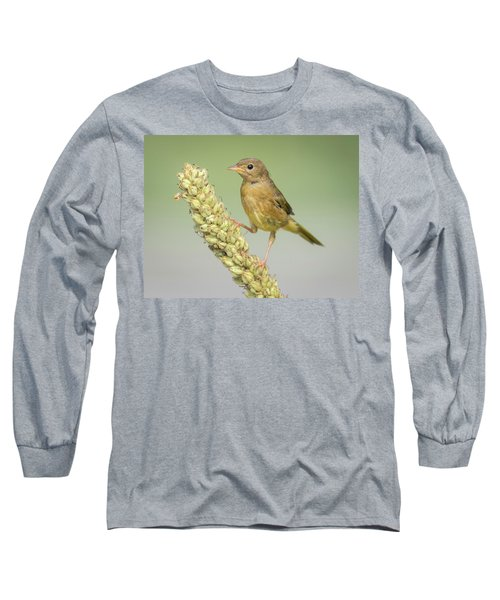 Baby Common Yellow Throat Warbler Long Sleeve T-Shirt