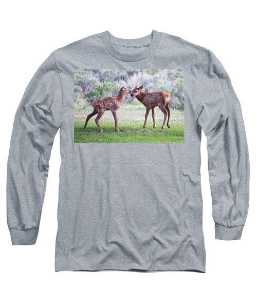 Baby Elk Long Sleeve T-Shirt