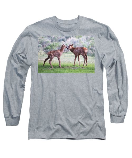 Baby Elk Long Sleeve T-Shirt