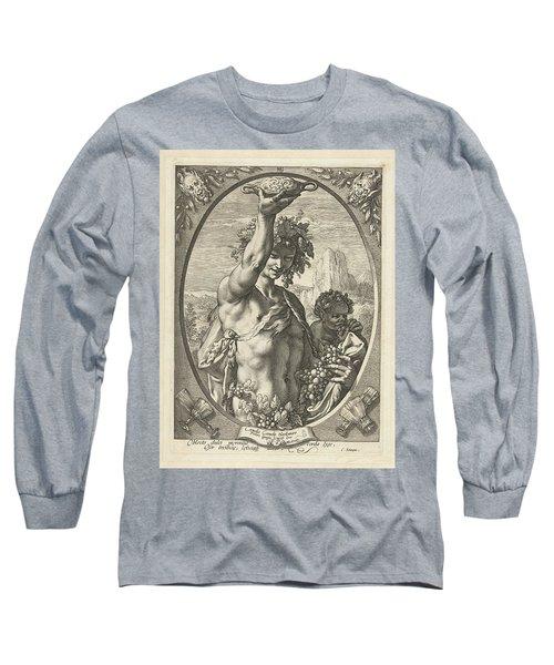 Bacchus God Of Ectasy Long Sleeve T-Shirt