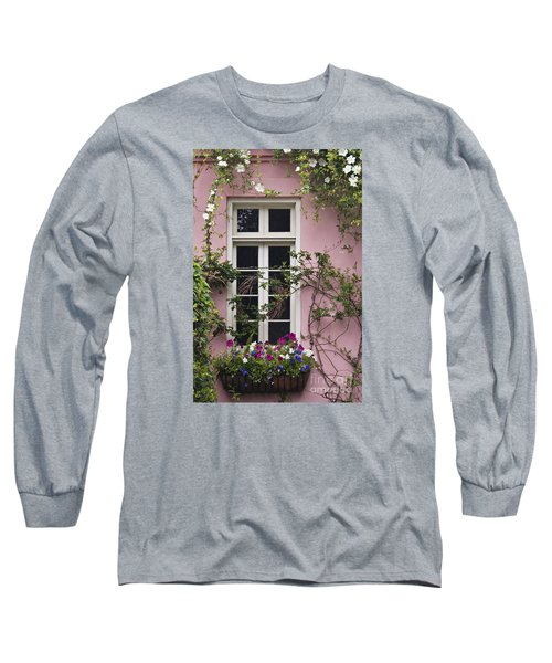 Back Alley Window Box - D001793 Long Sleeve T-Shirt