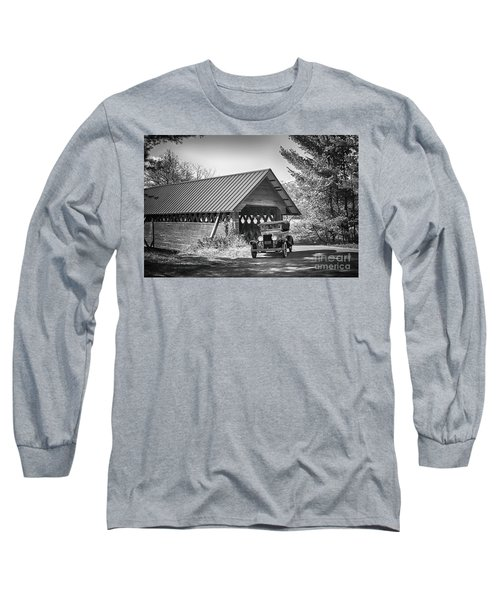 Back In The Day Long Sleeve T-Shirt by Nicki McManus