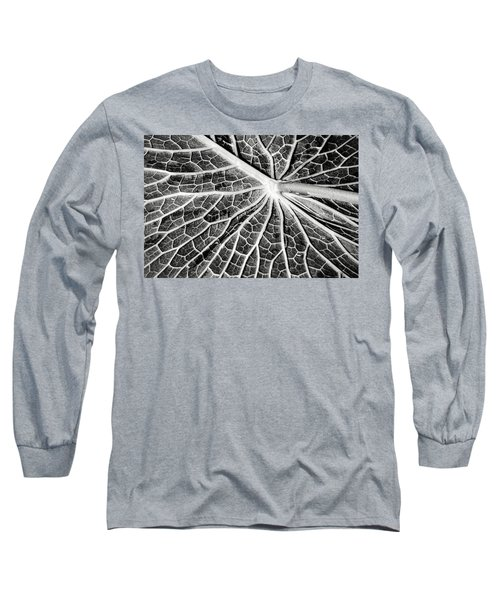 Back Of A Water Lily Pad Long Sleeve T-Shirt