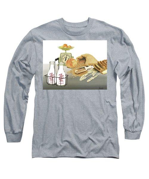 Back To Basics Long Sleeve T-Shirt by Ferrel Cordle