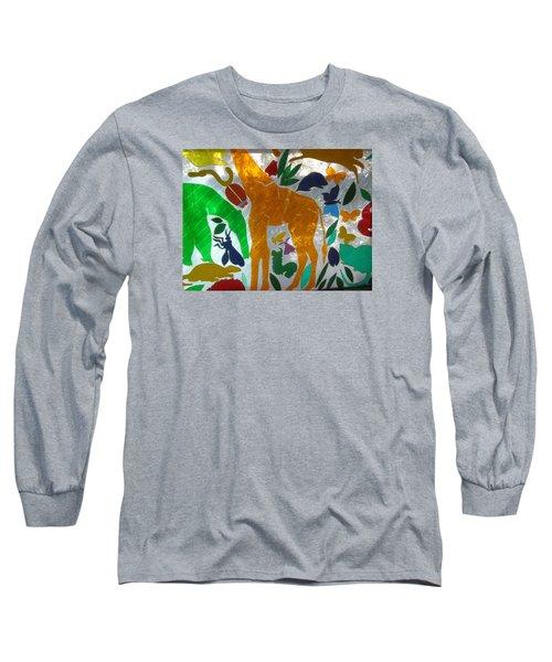 Background 2 Long Sleeve T-Shirt