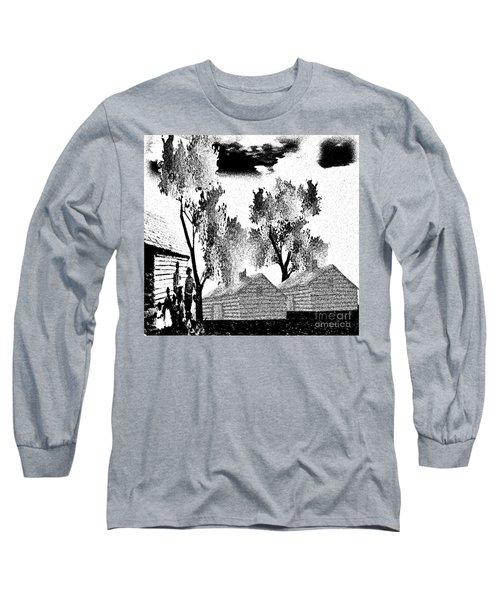 Backwoods Long Sleeve T-Shirt by Belinda Threeths