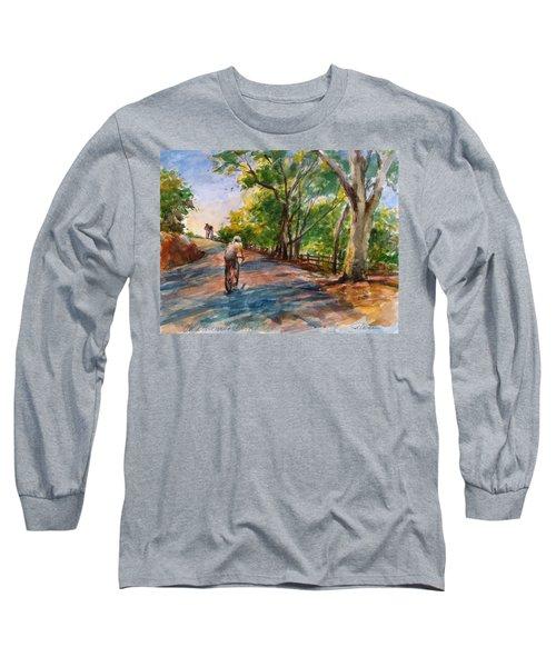 Backwoods Pedaling Long Sleeve T-Shirt