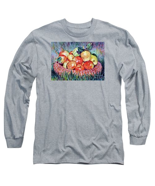 Backyard Apples Long Sleeve T-Shirt