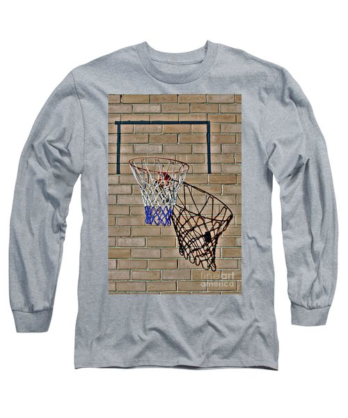 Backyard Basketball Long Sleeve T-Shirt