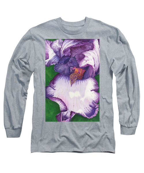 Backyard Beauty Long Sleeve T-Shirt