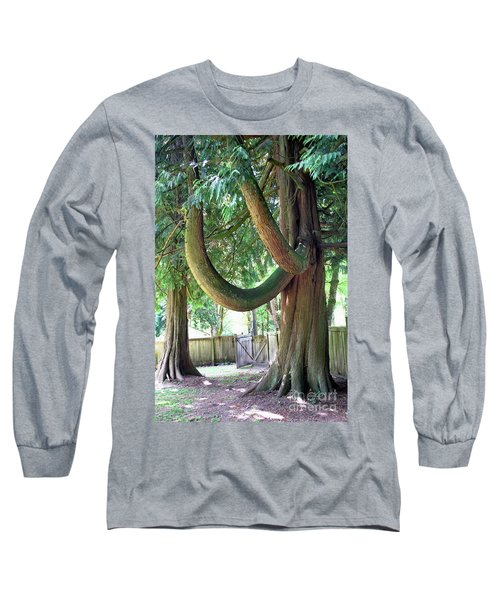 Backyard Cedar Long Sleeve T-Shirt