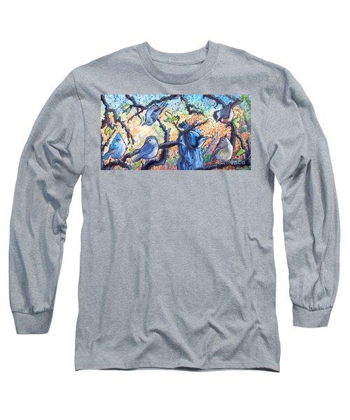 Backyard Gang Long Sleeve T-Shirt