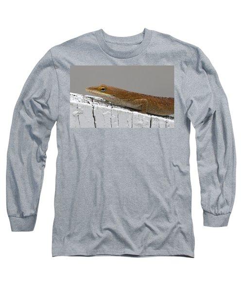 Backyard Visitor Long Sleeve T-Shirt
