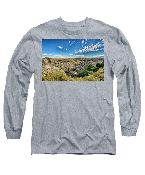 Bad Lands South Dakota.... Long Sleeve T-Shirt