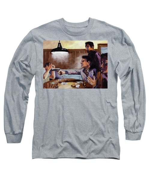 Bad Table Manners Long Sleeve T-Shirt