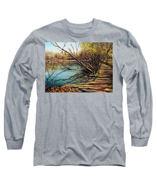Bakers Pond Ipswich Ma Long Sleeve T-Shirt