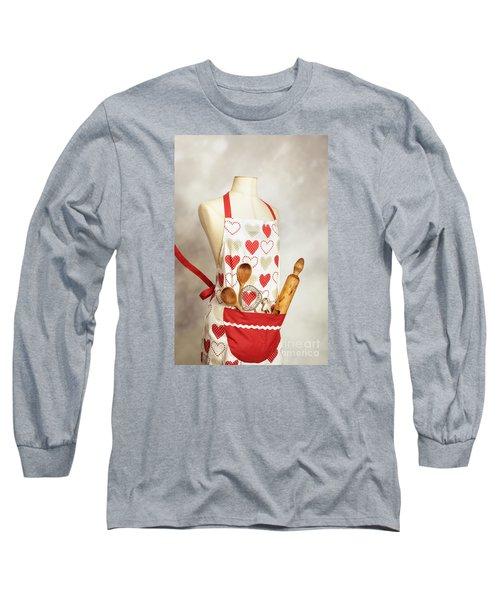 Baking Apron Long Sleeve T-Shirt