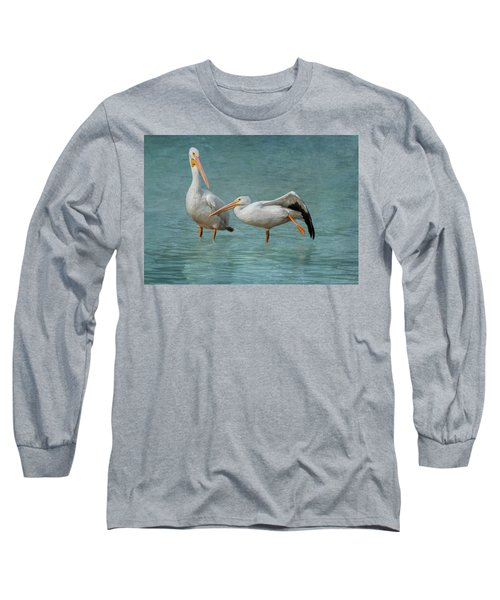 Long Sleeve T-Shirt featuring the photograph Balance by Kim Hojnacki