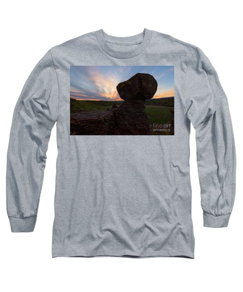 Long Sleeve T-Shirt featuring the photograph Balanced by Mike Dawson