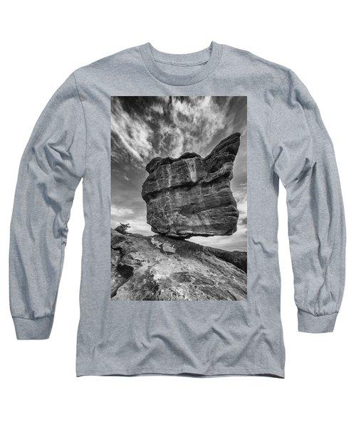 Balanced Rock Monochrome Long Sleeve T-Shirt