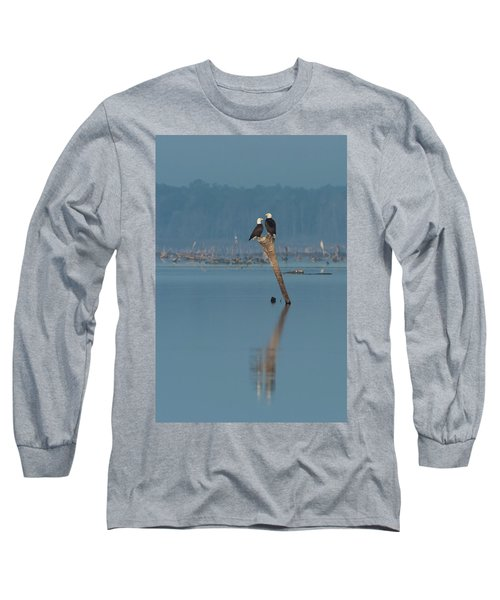 Bald Eagle Pair Long Sleeve T-Shirt